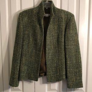 Garfield & Marks size 14 beautiful green jacket